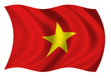 Socialist Republic of Viêt Nam Flag of