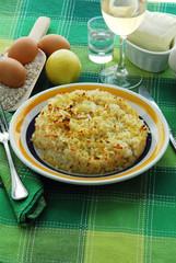 Torta di riso carrarina - Dolci toscana