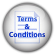 """Terms & Conditions"" button (white/blue)"