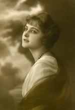 Vintage porträtt