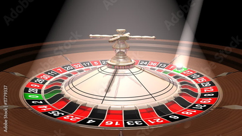 Roulette wheel , seamlessly loopable