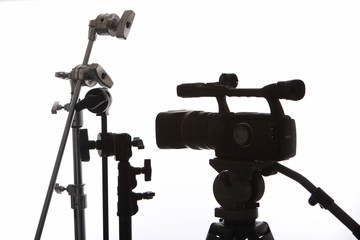 Video Camera and Grip