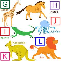 Animal alphabet, part 2 of 4