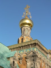 Darmstadt-Russische Kapelle Detail 06