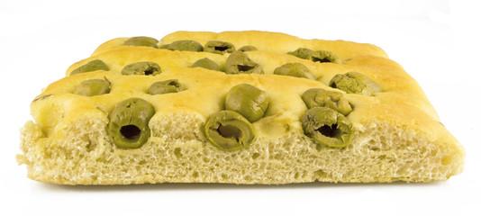 Focaccia con Olive 3