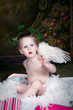 Little Angel with Hearts