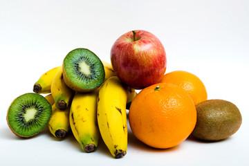 frutas agrupadas