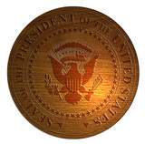 Seal of the President of the USA poster