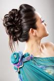Fototapety Elegant hairstyle