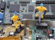 Detaily fotografie počítačových dílů opravy pracovník 3