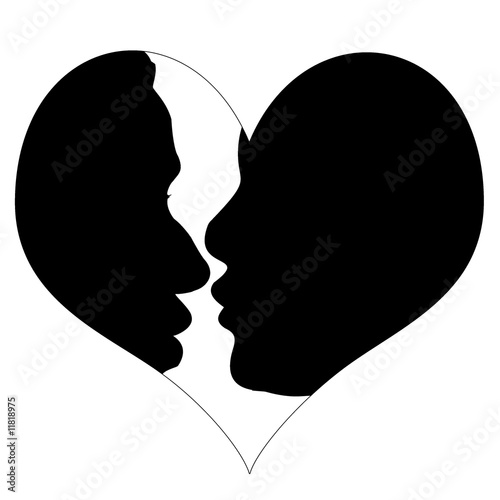 Coeur amoureux stock photo and royalty free images on - Coeurs amoureux ...