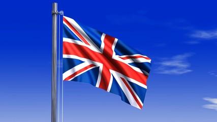 England Fahne mit Alpha-Kanal