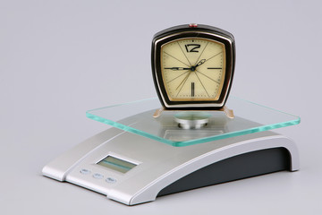 How to weigh time?