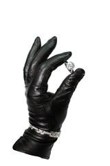 Spy with jewelry