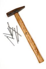 Hammer und Nägel 01