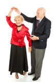 Fototapety Senior Dancing - Twirl
