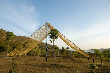 Obstacle course - net