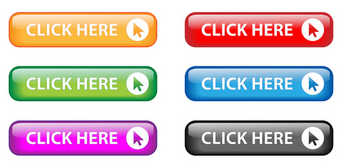 """Click Here"" button poster (various colours)"