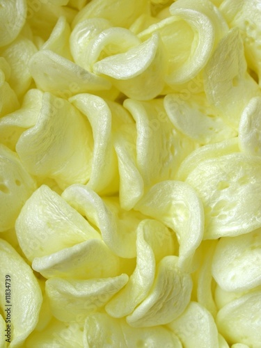 yellow expanded polystyrene beads for packaging