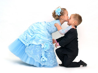 Charming kiss