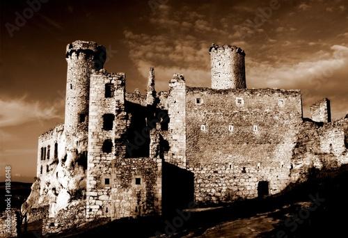 Castle- Ogrodzieniec- Poland