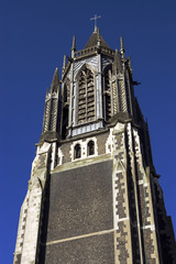the tower of church