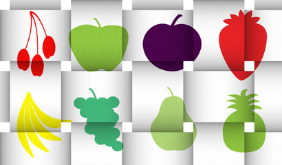 Fruit 3d Weave
