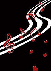 Musical Valentine Print