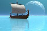 VIKING SHIP 2 poster
