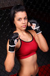 Hispanic MMA Girl