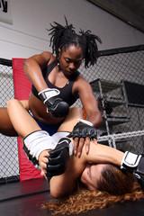 Women MMA fighters