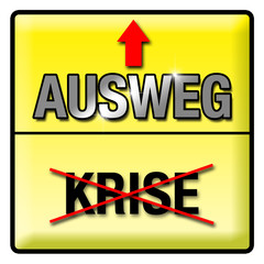 BUTTON KRISE AUSWEG