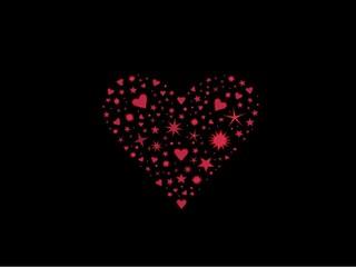 explosion de coeurs