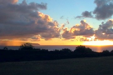 Hawaii Mountain Top Sunset Time Lapse