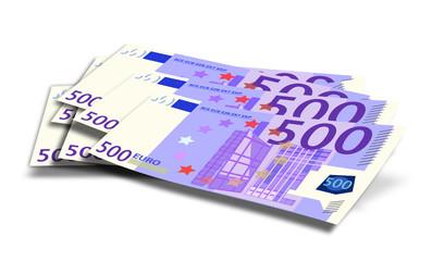 500 euros sueltos
