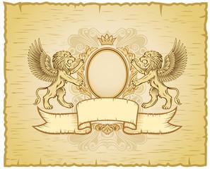 Ancient Lion Emblem