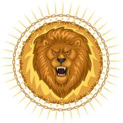 Wild Roaring Lion