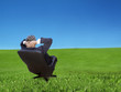 Daydreaming - businessman relaxing