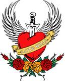 Tattoo Love kills poster