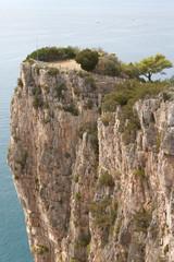 Italy, Gaeta. The mountain Orlando. Tyrrhenian Sea