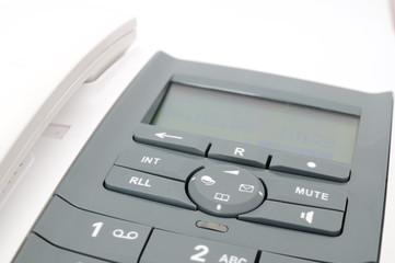 Teléfono blanco