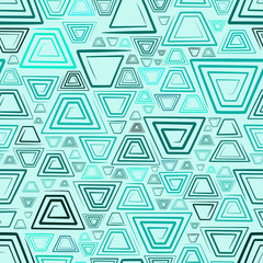 Seamless background with spirals. Vector illustration