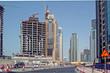 Baustellen, Bautätigkeit in Dubai