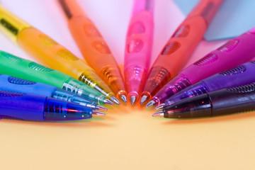 olor pens - closeup