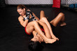 MMA arm bar