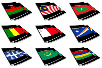 world flag book collection 17