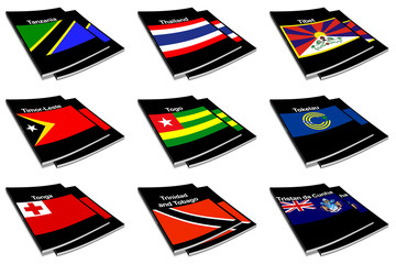 world flag book collection 28