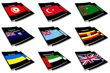 world flag book collection 29