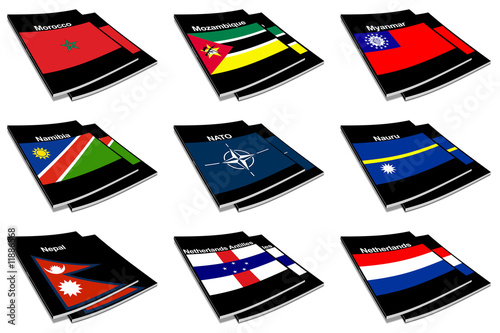 world flag book collection 19
