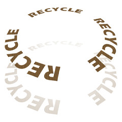 Cardboard Circular Recycle